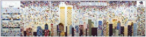 Here is a National Tribute Quilt at the American Folk Art Museum.