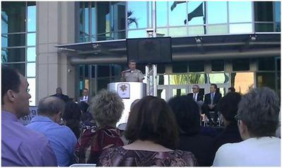 LVMPD HQ Grand Opening Ceremony