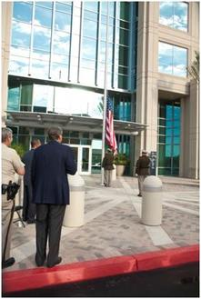 LVMPD Flag Raising Ceremony